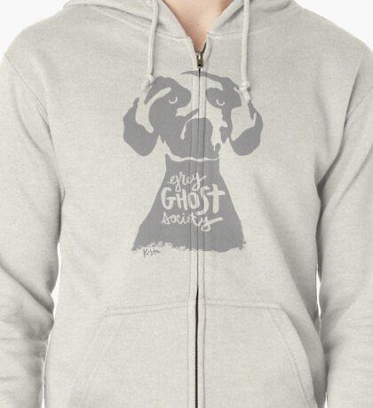 Grey Ghost Society : v2 Zipped Hoodie