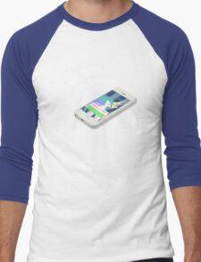 Celestia Eats A Telephone Men's Baseball ¾ T-Shirt