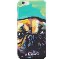 Puggle Dog Bright colorful pop dog art iPhone Case/Skin
