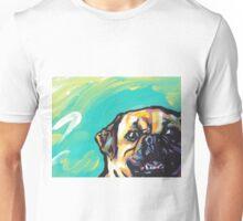 Puggle Dog Bright colorful pop dog art Unisex T-Shirt