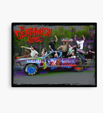 The Deathwish Video Canvas Print