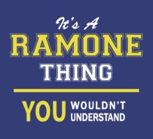 It's A RAMONE thing, you wouldn't understand !! by satro