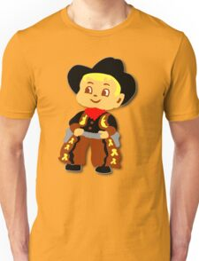 Retro cute Kid Billy Cowboy tee T-Shirt