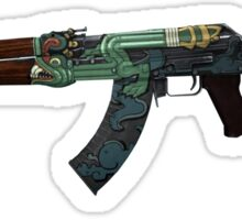 AK-47 Fire Serpent Sticker // CS:GO Sticker