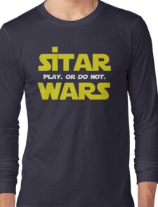 Funny Star Wars Sitar wars Long Sleeve T-Shirt