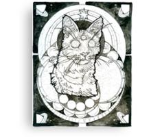 third eye felined Canvas Print