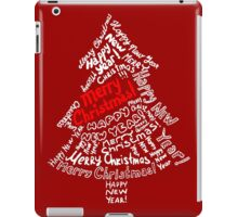 Merry Christmas For All iPad Case/Skin