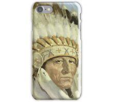 The Chief  Retro Vintage Native American Man Cool Art Design iPhone Case/Skin