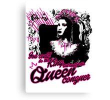 Queen Nicki  Canvas Print