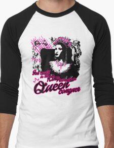 Queen Nicki  Men's Baseball ¾ T-Shirt
