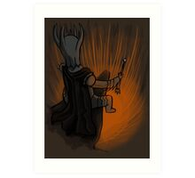 Sauron's Marshmallow Break Art Print