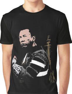 Chirrut Imwe - Star Wars: Rogue One - Black Graphic T-Shirt