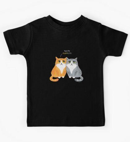 Purretty Kitties Kids Tee