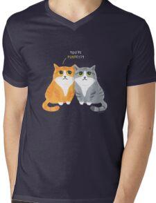 Purretty Kitties Mens V-Neck T-Shirt