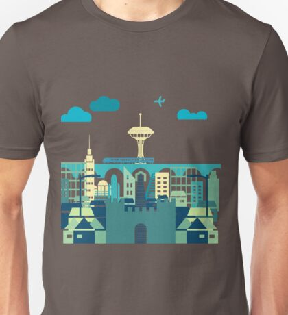 Skyline Evolution Unisex T-Shirt