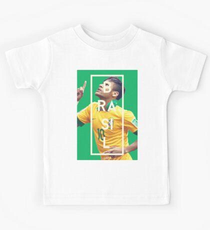 Neymar - Brazil Kids Tee