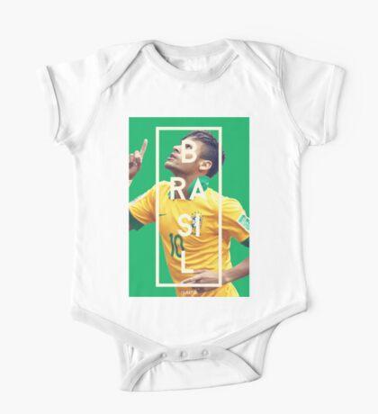 Neymar - Brazil One Piece - Short Sleeve