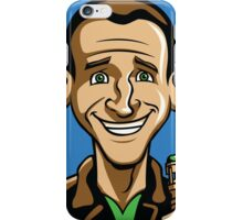 Time Travelers, Series 3 - The Ninth Doctor (Alternate) iPhone Case/Skin