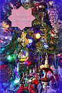 Merry Christmas Greeting Card - Decorated Tree #2 by MotherNature