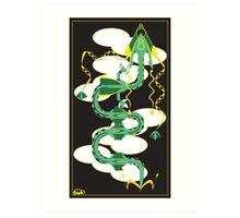 Dragon Delta Art Print