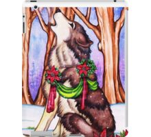 Howl for the Holidays iPad Case/Skin