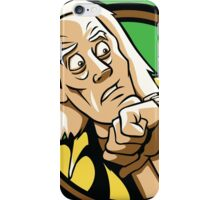 Time Travelers, Series 1 - Doc Brown (Alternate) iPhone Case/Skin