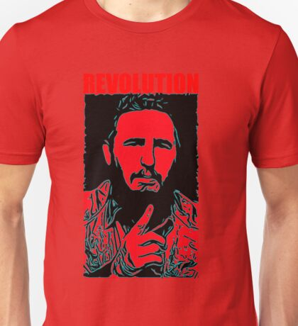 Fidel Castro art Unisex T-Shirt