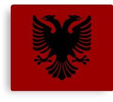 Albanian Eagle / Flag Canvas Print