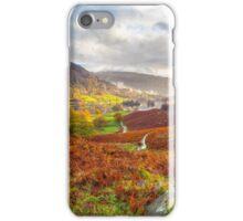 Rydal Water, Lake District, UK. iPhone Case/Skin