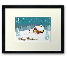 Winter Snow Framed Print
