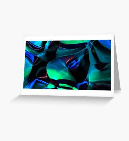 Spacetime Flow V Greeting Card