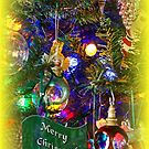 Merry Christmas Greeting Card - Decorated Tree #5 by MotherNature