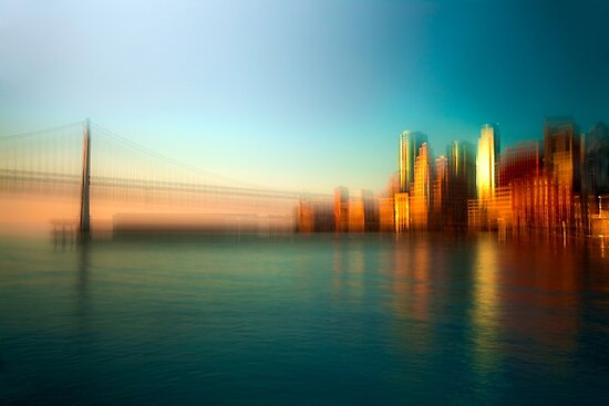 Sunrise by the Bay by Rick Gustafson