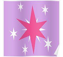 Twilight Sparkle Cutie Mark Poster