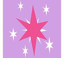 Twilight Sparkle Cutie Mark Photographic Print