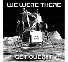 Moon Landing Design Photographic Print