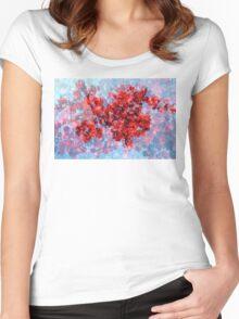 Never-ending heart (2014) Women's Fitted Scoop T-Shirt