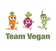 Team Vegan by Eggtooth