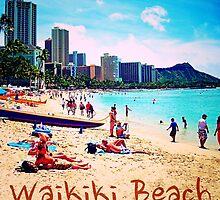 Waikiki Beach by TelestaiPix