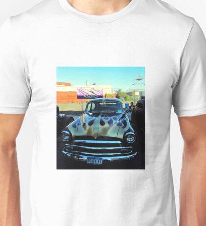 The Beatniks Koolsville Classic Car Unisex T-Shirt