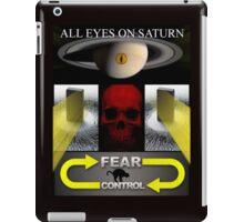 KEEP YOUR EYES ON SATURN iPad Case/Skin