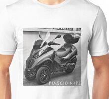 Piaggio MP3 Three-Wheeled Scooter Unisex T-Shirt