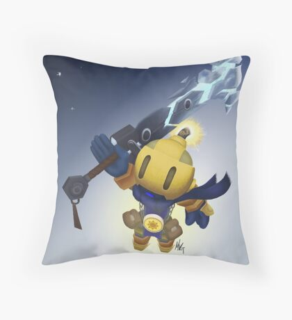 Spiral Knights - Bomberman Throw Pillow