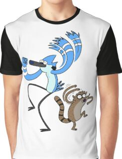 Mordecai & Rigby Graphic T-Shirt