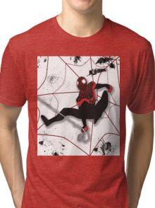 Ultimate Spiderman Miles Morales Tri-blend T-Shirt