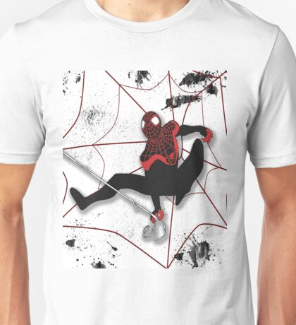 Ultimate Spiderman Miles Morales Unisex T-Shirt