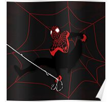 Ultimate Spiderman Miles Morales Poster