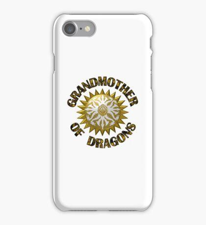 Grandma Of Dragons iPhone Case/Skin