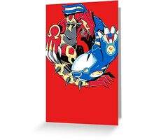 Primal Balance Omega Ruby & Alpha Sapphire T-shirt Greeting Card