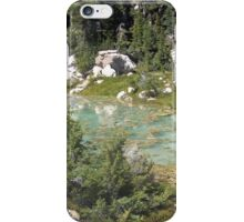 Turquoise Geothermal Pond iPhone Case/Skin